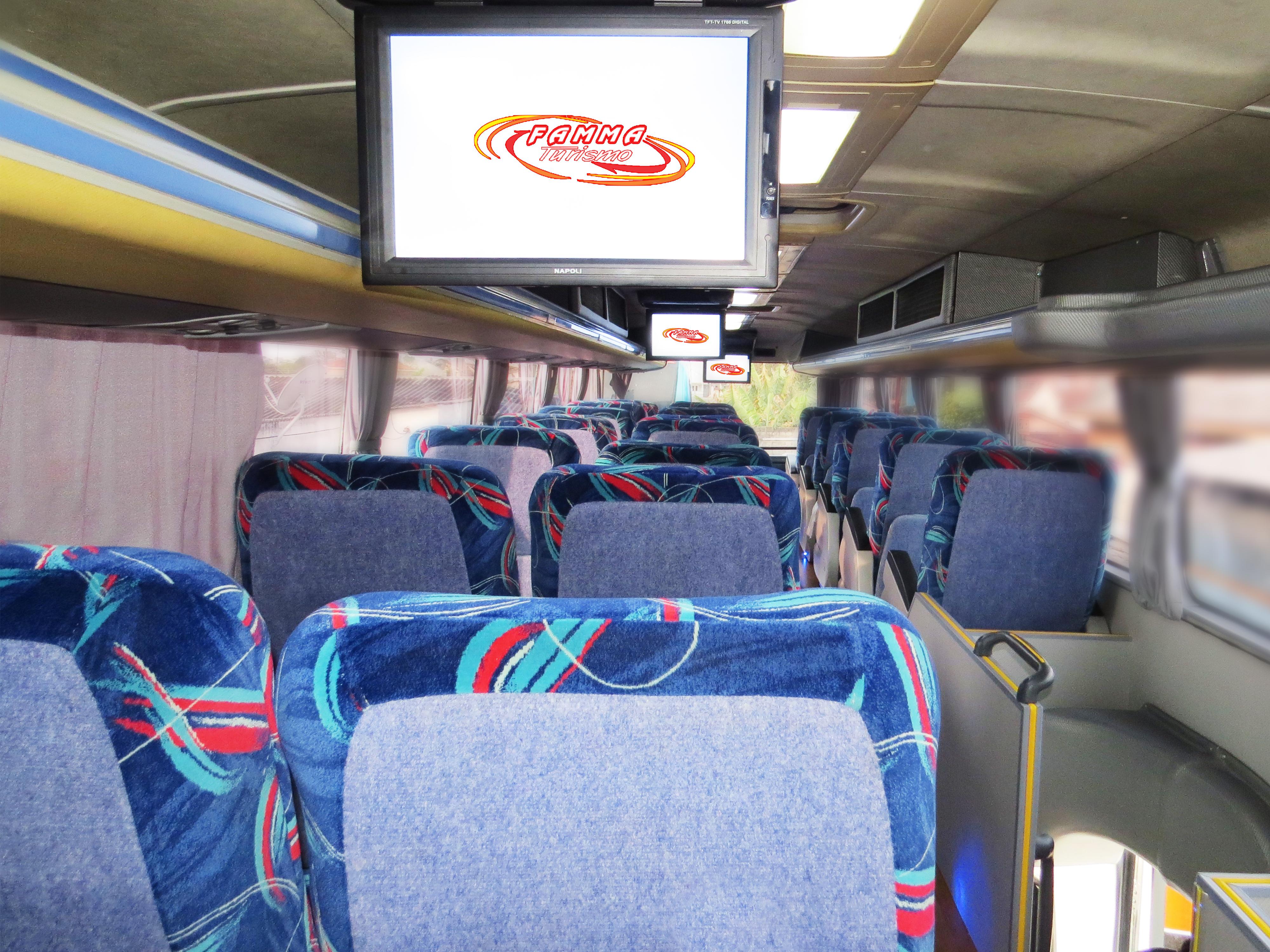 DVD / CD player, 3 telas LCD